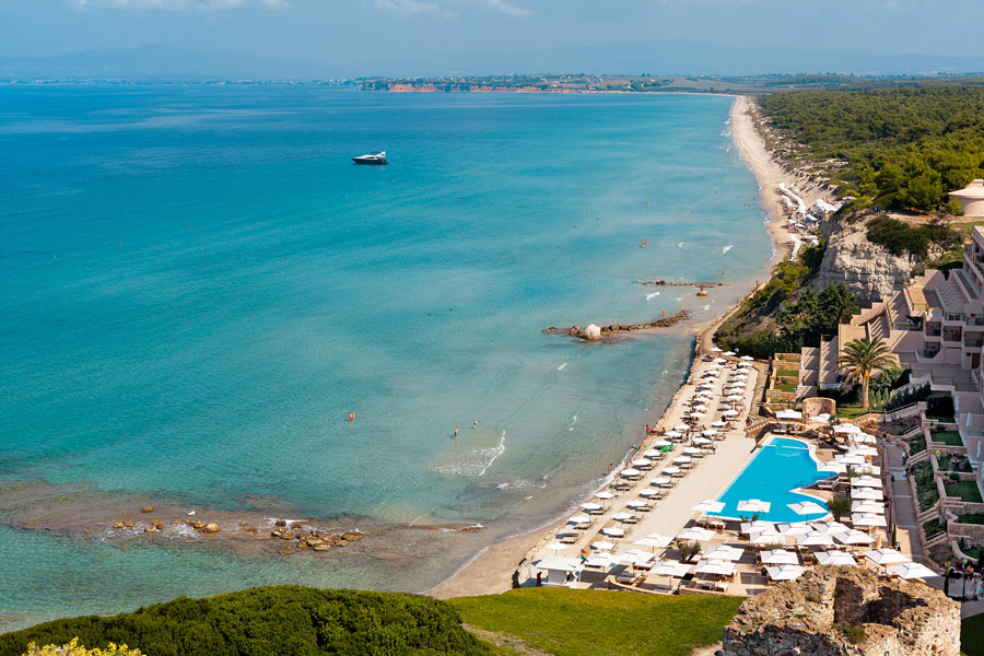 Sani Beach Hotel Rooms