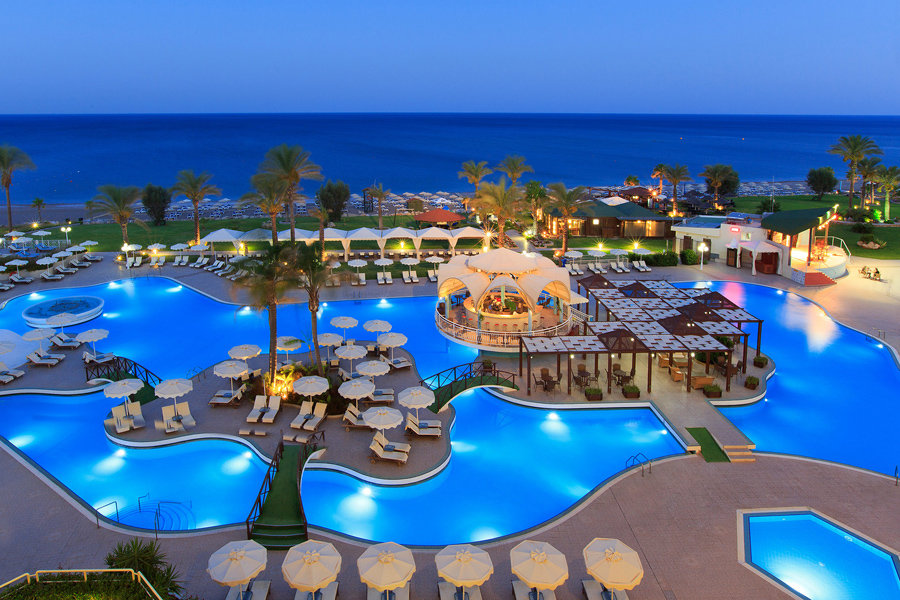 Luxury Hotel: RODOS PALLADIUM