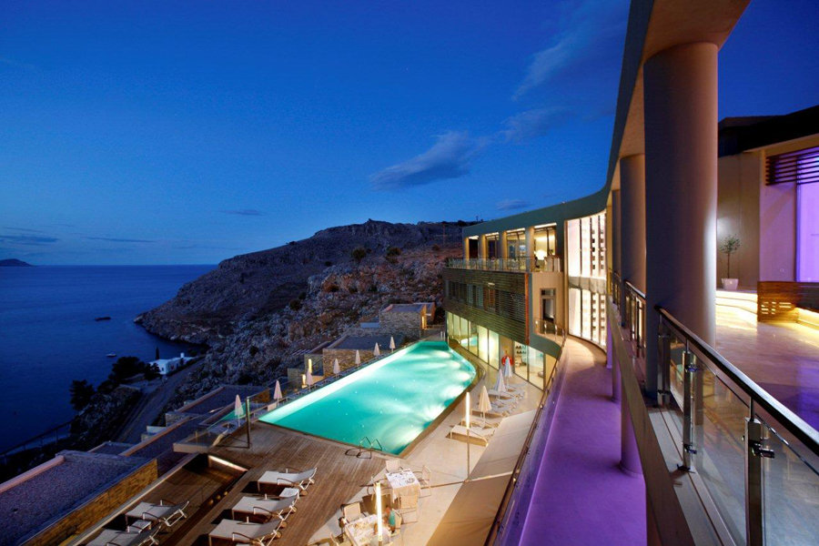 Luxury Hotel: Lindos Blu Luxury Hotel & Suites