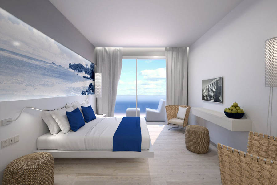 Tonga tower design hotel suites going luxury for Mallorca design hotel