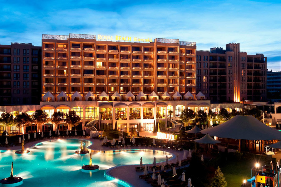 Luxury Hotel: BARCELO ROYAL BEACH HOTEL