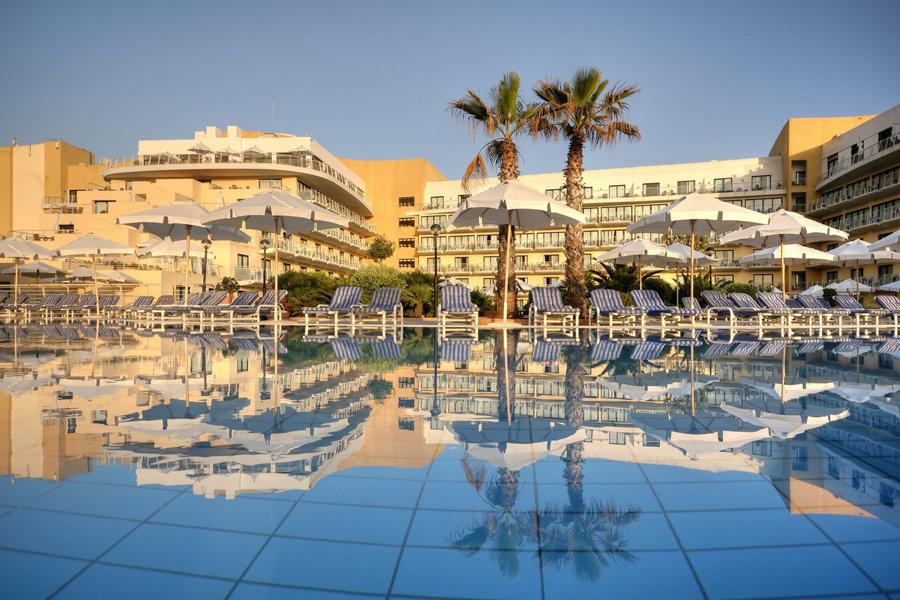 Luxury Hotel: Intercontinental Malta