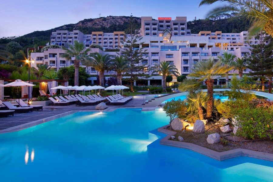 Luxury Hotel: SHERATON RHODES RESORT