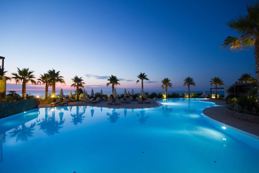 Luxury Hotel: IKAROS BEACH RESORT & SPA