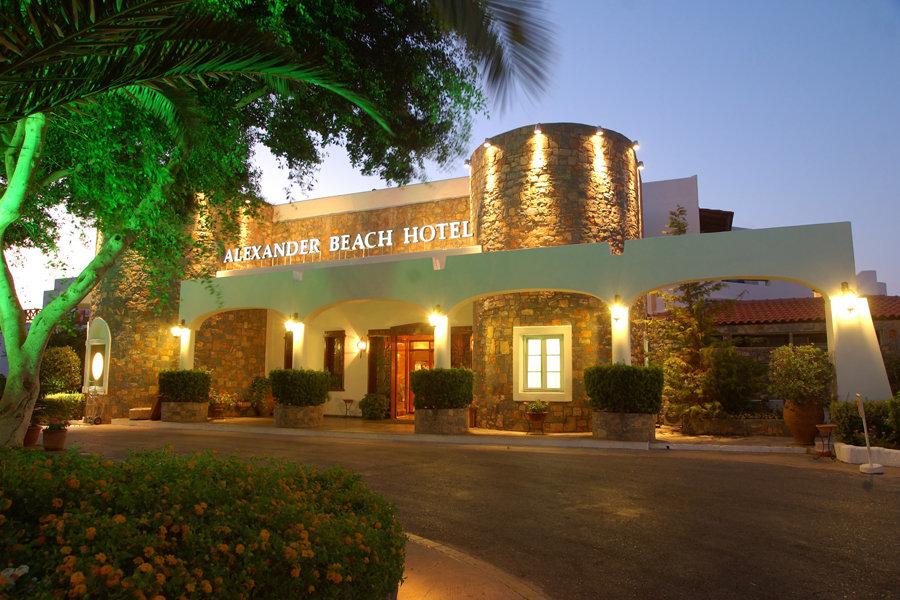 Luxury Hotel: ALEXANDER BEACH HOTEL & VILLAGE