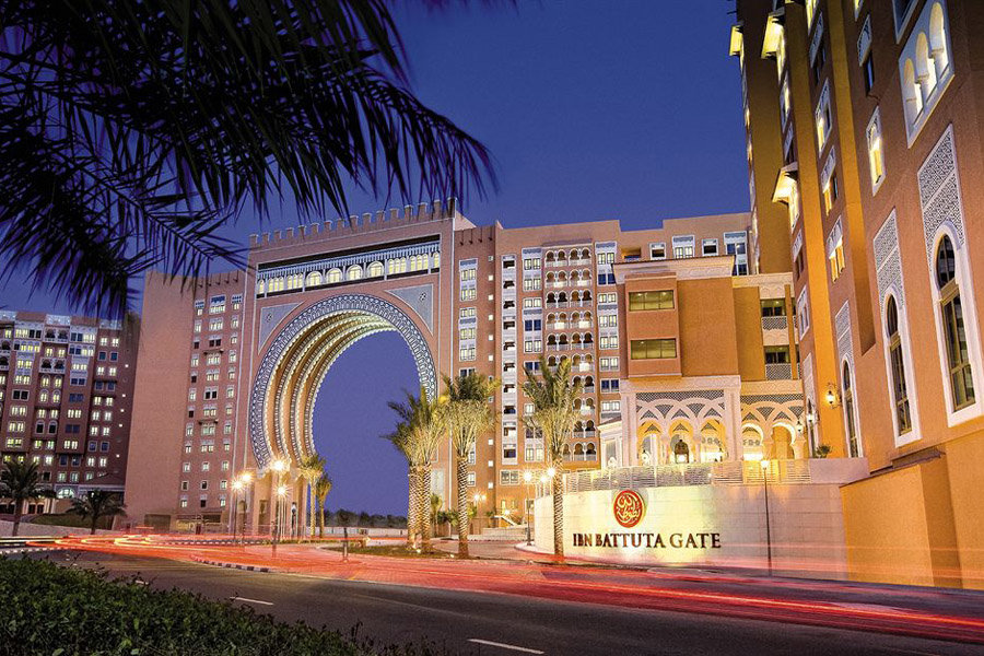 Luxury Hotel: OAKS IBN BATTUTA GATE DUBAI