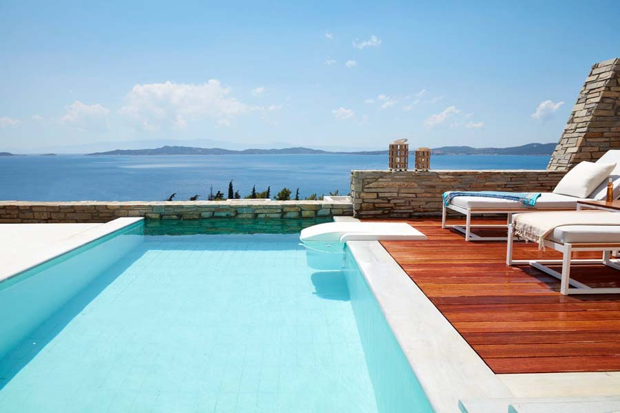 Luxury Hotel: EAGLES VILLAS HALKIDIKI