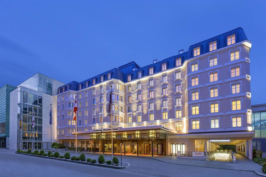 Luxury Hotel: SHERATON GRAND SALZBURG
