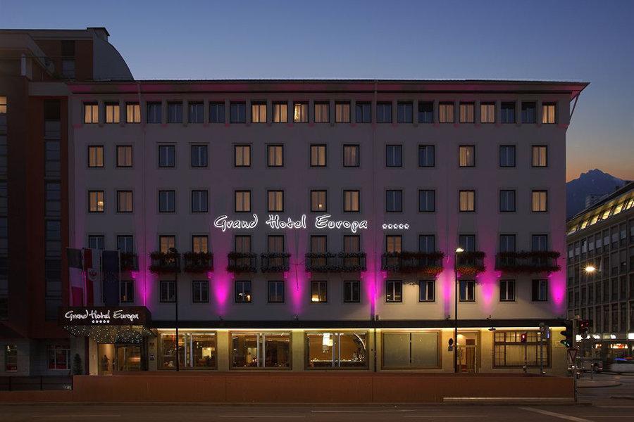 Luxury Hotel: Grand Hotel Europa