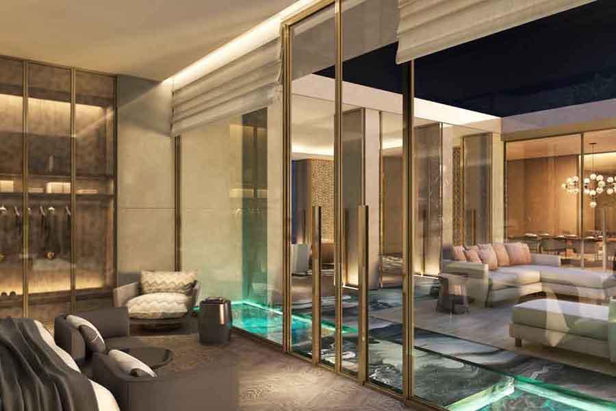 Five palm jumeirah dubai going luxury for Exclusive hotel dubai