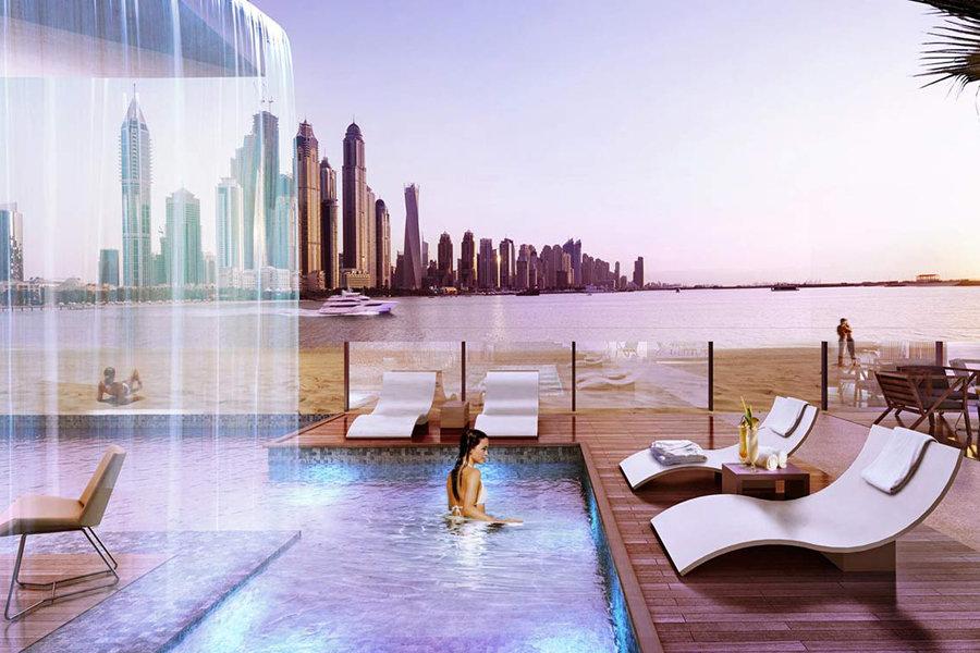 Five palm jumeirah dubai going luxury for Pool and spa show dubai