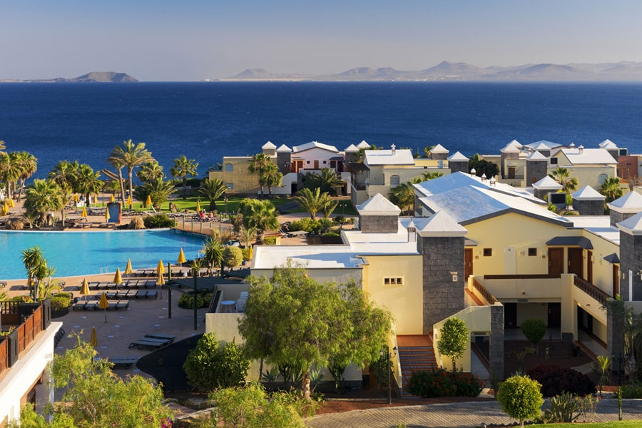 H10 rubicon palace going luxury for Villas rubicon lanzarote