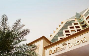 Luxury Hotel: Raffles Dubai