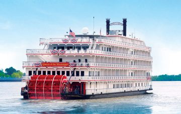 Luxury Hotel: QUEEN OF THE MISSISSIPPI PADDLE STEAMER CRUISE